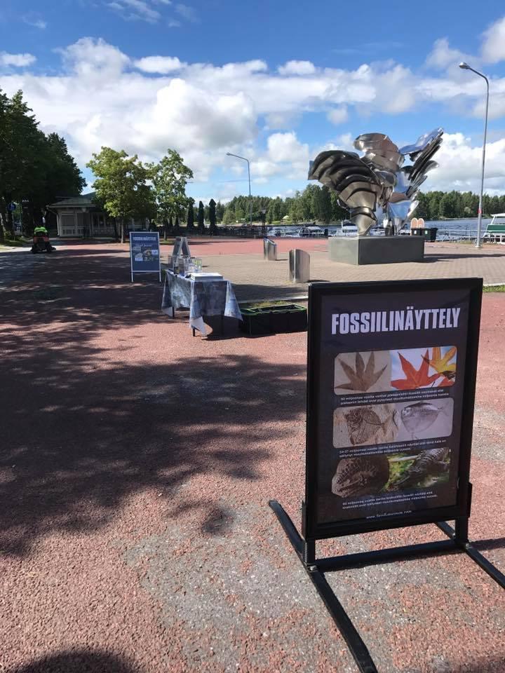 Helsinki'de Fosil Sergisi