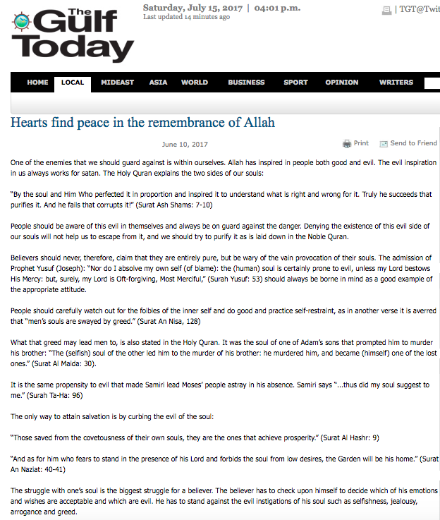 Kalpler ancak Allah'ı anmakla huzur bulur