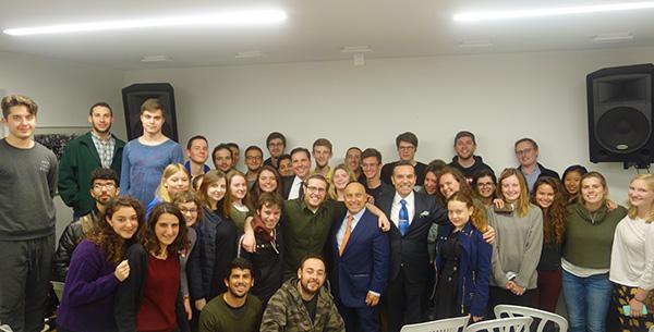 """İbrani Üniversitesinde """"İslam'da Barış ve Adalet"""" Konferansı"""