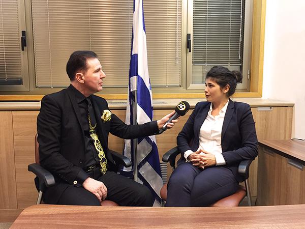 Adnan Oktar Temsilcilerinin İsrail Görümeleri