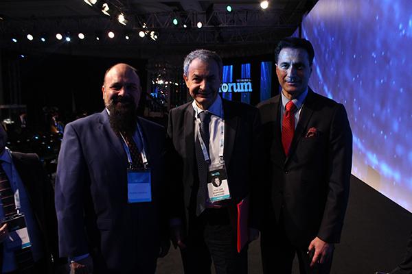 Adnan Oktar temsilcileri TRT World Forum'da