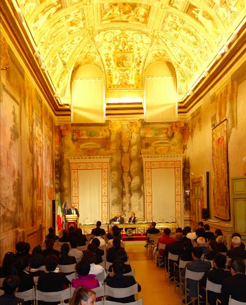 Adnan Oktar Temsilcilerinin İtalyan Senatosundaki Konuşması