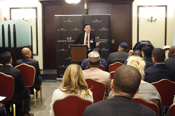 Manhattan Habad Musevi Merkezi'nde Birlik konulu konferans