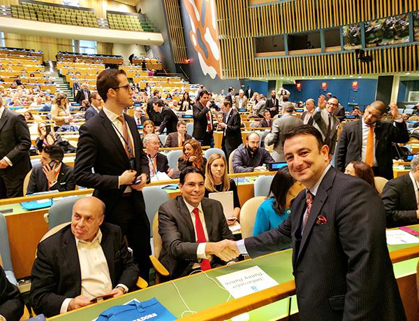 Danny Danon,İsrail'in Birleşmiş Milletler Büyükelçisi
