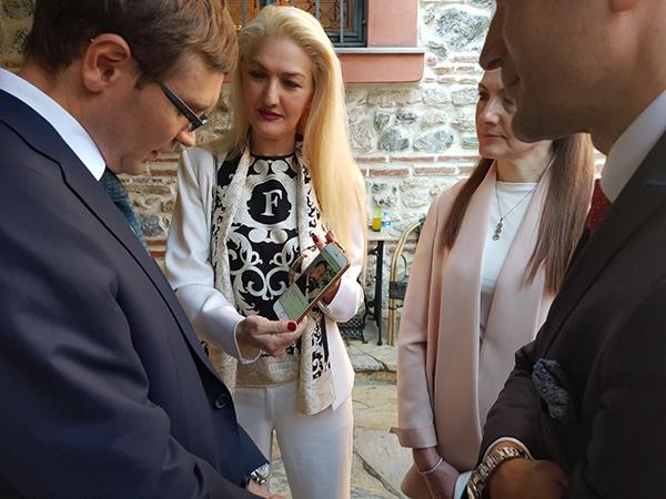 Adnan Oktar temsilcilerinin Rusya Eski Başbakanı ve Rus Bürokratlarla görüşmesi