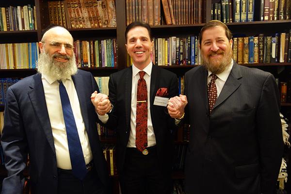 Haham Yakov David Cohen ve Haham Ben Tzion Krasnianski