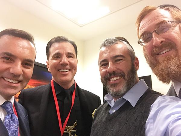 Haham Yishai Fleisher ve Haham Yehuda Glick ile Knesset'de gerçekleşen görüşme