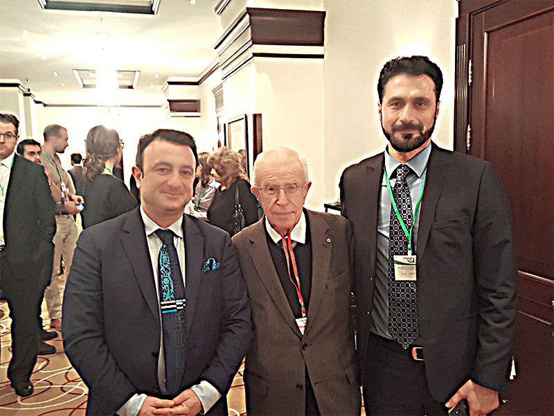 Moskova Devlet Üniversitesinde Ortadoğu Tarihi Bölüm Başkanı Dr. Mikhail Meyer