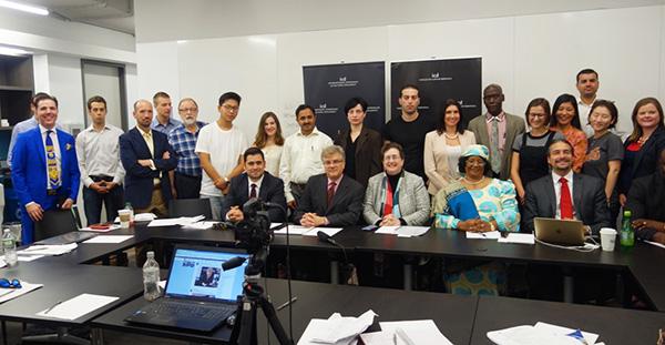 """Adnan Oktar Temsilcilerinin New York Üniversitesinde """"Barışa Çağrı"""" başlıklı konuşması"""