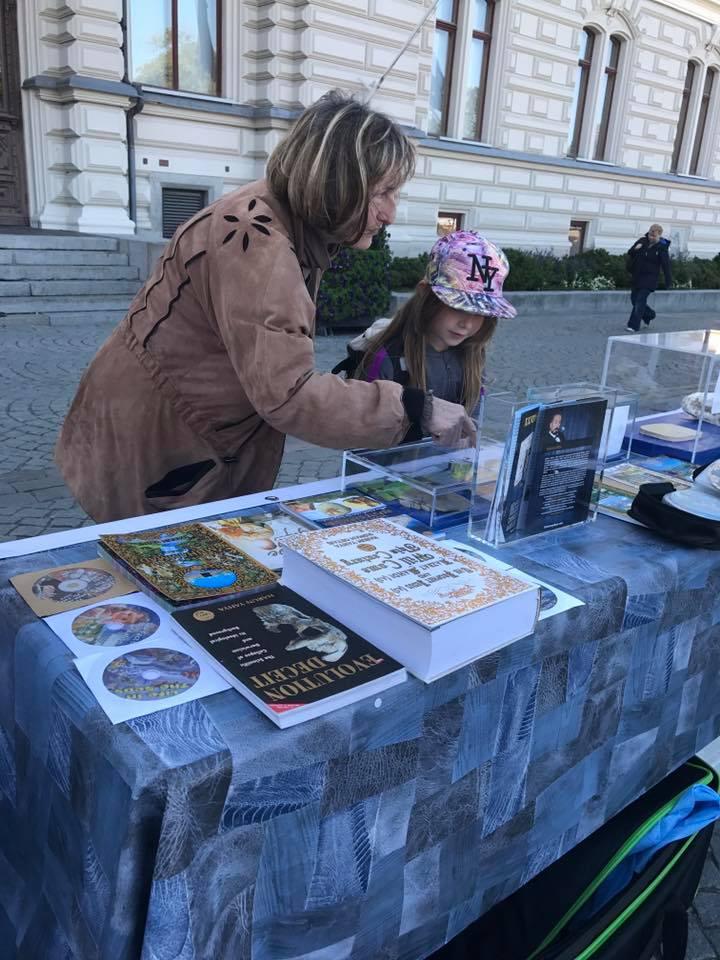 Tampere şehrinde fosil sergisi