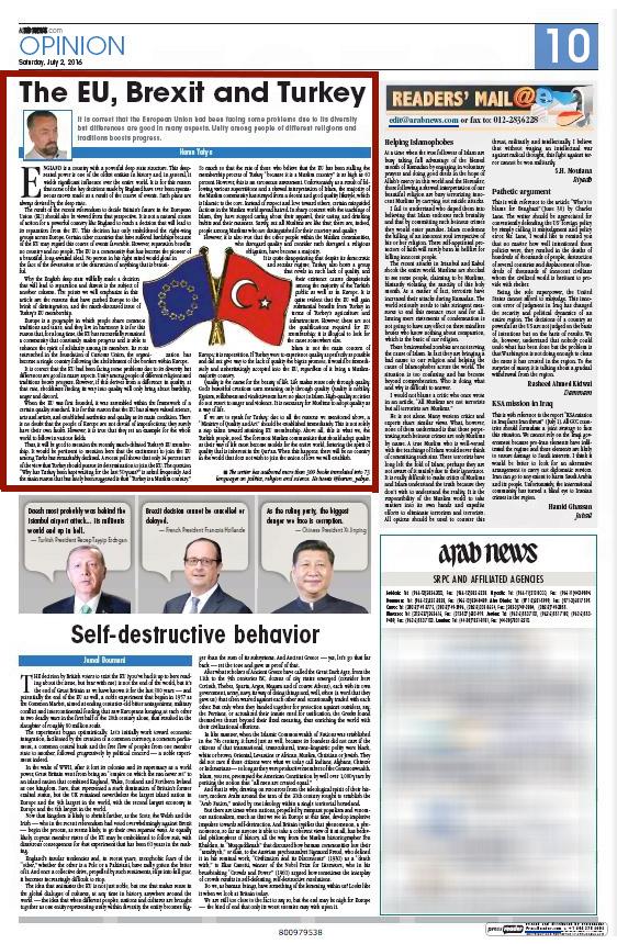 arab news_adnan_oktar_EU_brexit_and_turkey_2
