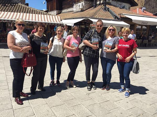 Adnan Oktar'ın kitapları Bosna'da dağıtıldı