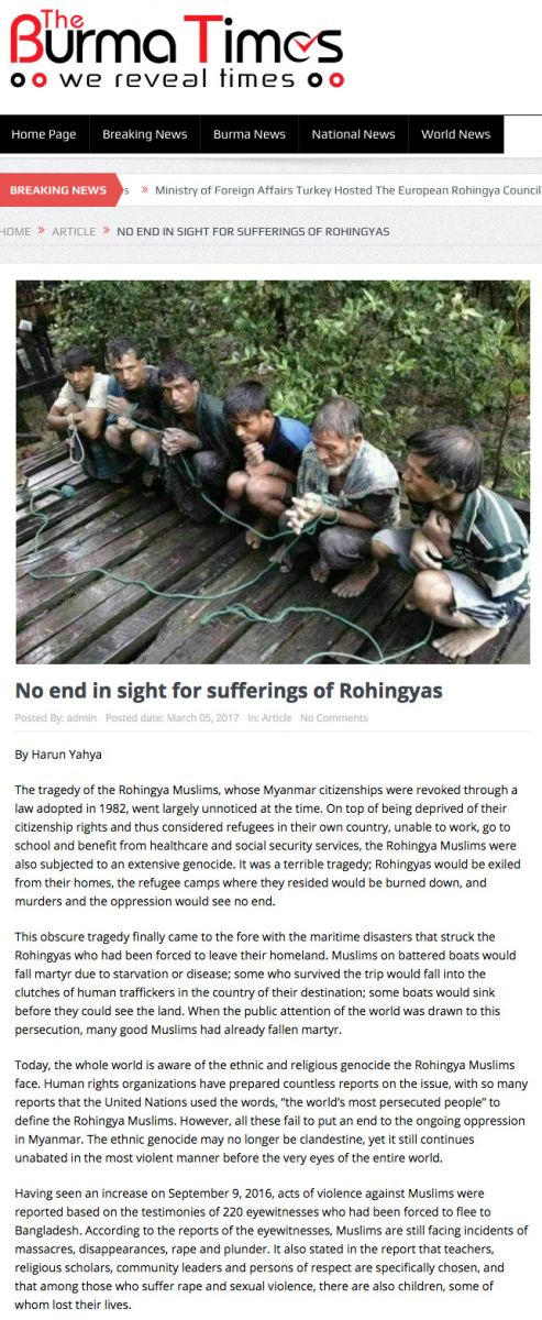 No end in sight for sufferings of Rohingyas