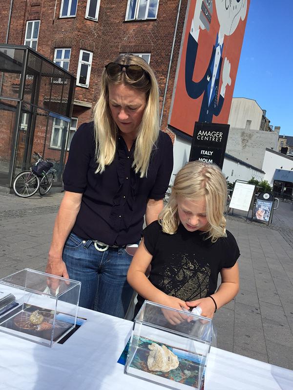 Kopenhag'da Fosil Sergisi