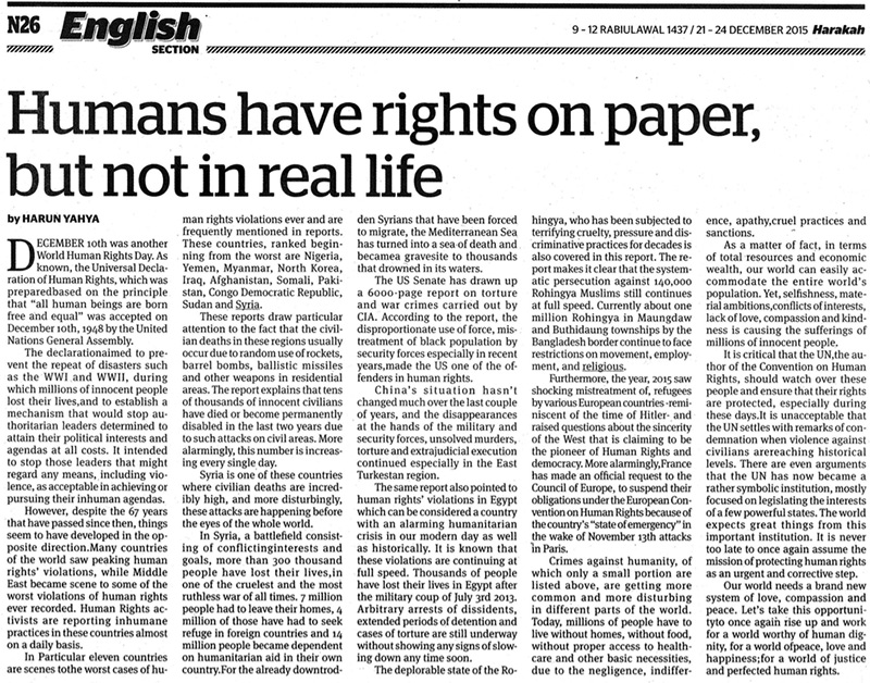 lack of human rights in the world The world bank should make human rights law a key component of its development manifesto in several cases, the world bank has neither acknowledged the lack of clear procedures and policies on human rights means that people whose rights are adversely affected have no way to hold the.