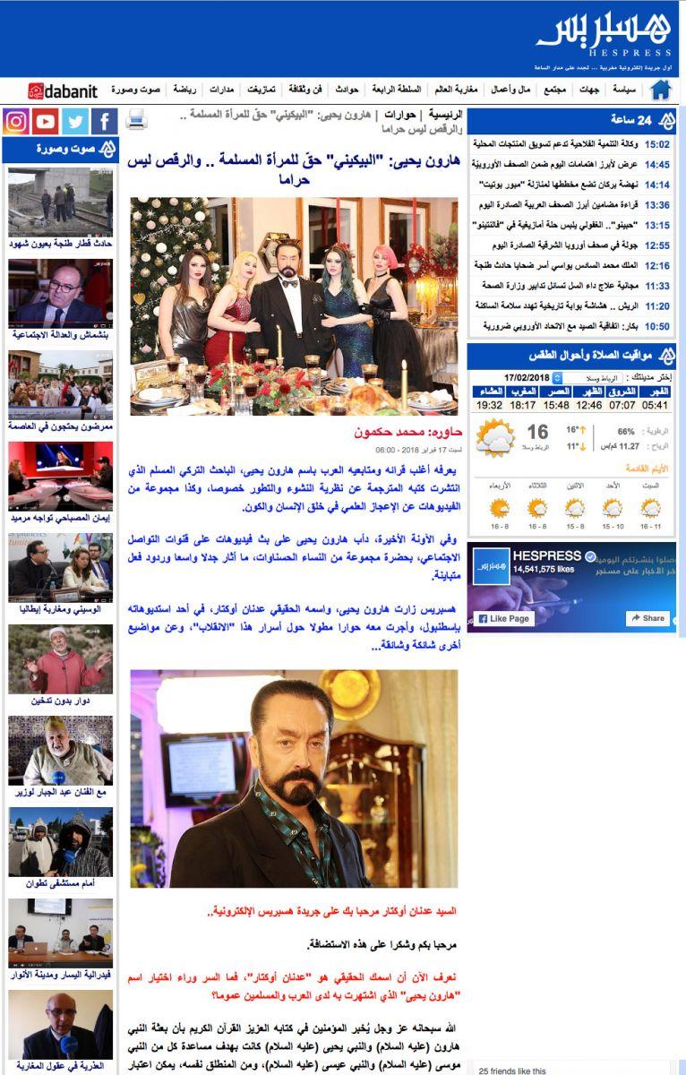 hespress adnan_oktar_interview_morocco