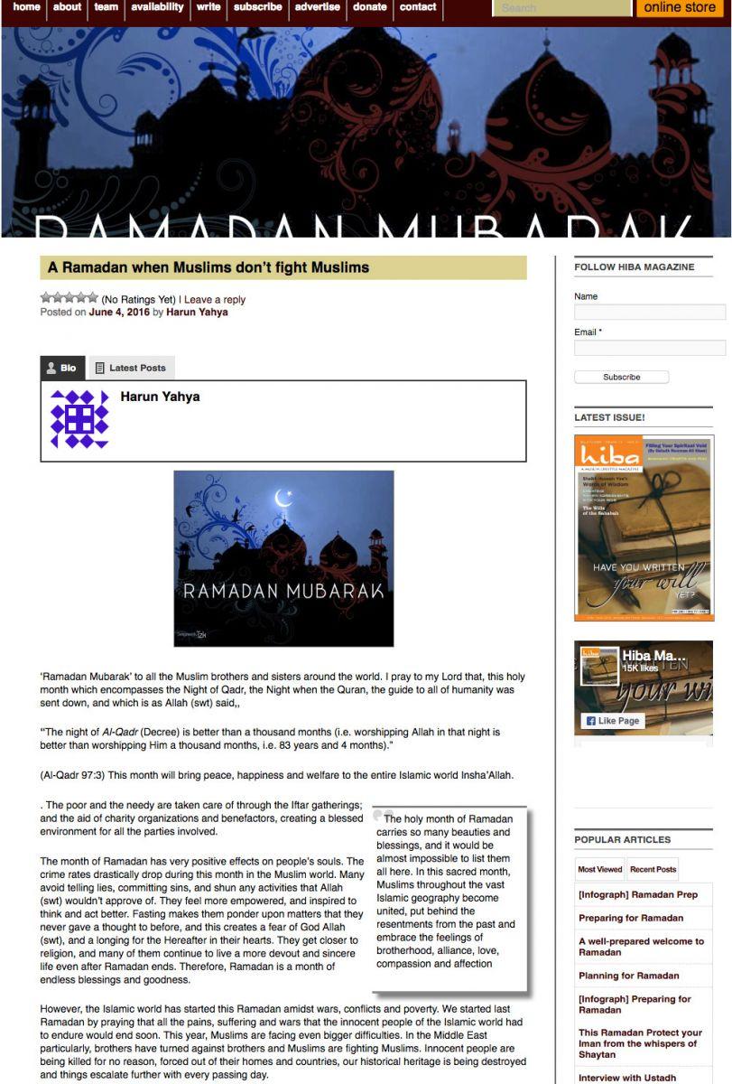 hiba magazine_adnan_oktar_ramadan_muslims_dont_fight