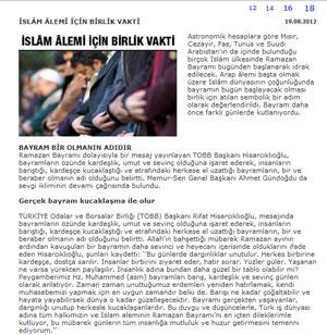 islambirligi yeniasya