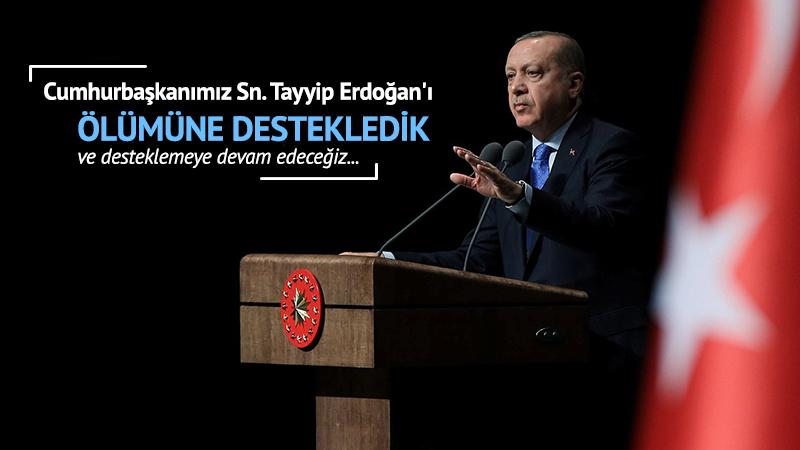 Cumhurbaşkanımız Sn. Tayyip Erdoğan