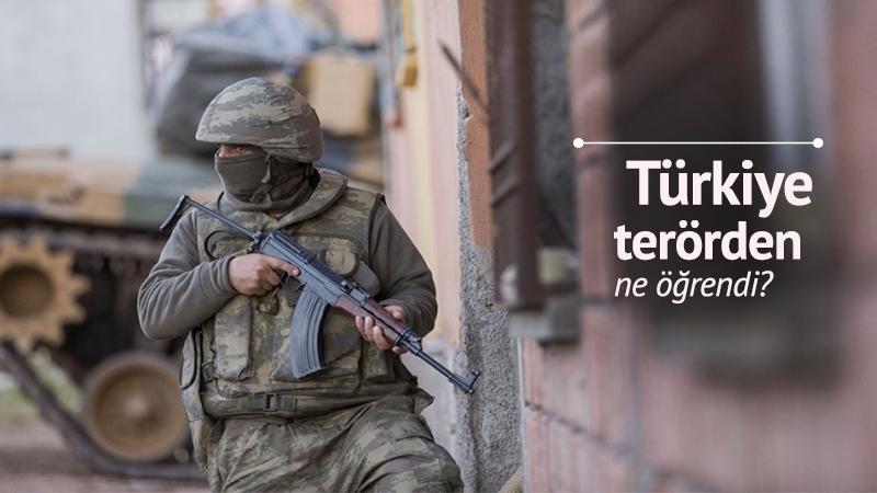 Türkiye terörden ne öğrendi?