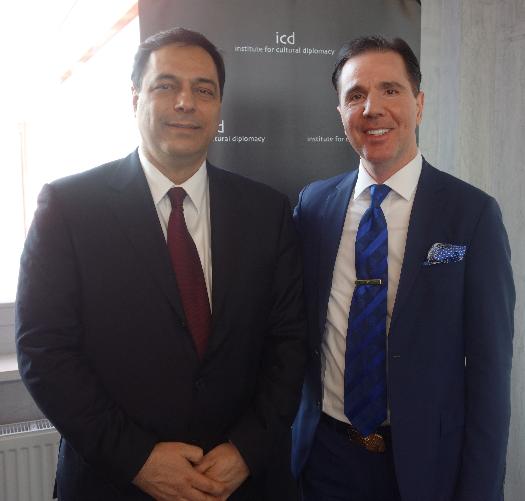 Prof. Hassan B Diab, Lübnan eski Eğitim Bakanı, Beyrut Amerika Üniversitesi Başkan Yardımcısı.