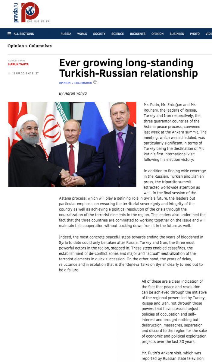 pravda ever_growing_long_standing_Turkish_Russian_relationship
