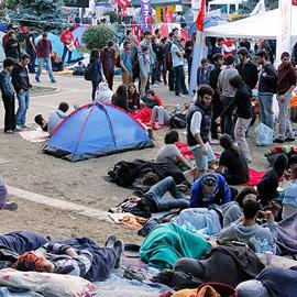 Gezi Parkı eylem yeri olarak kullanılmamalı.