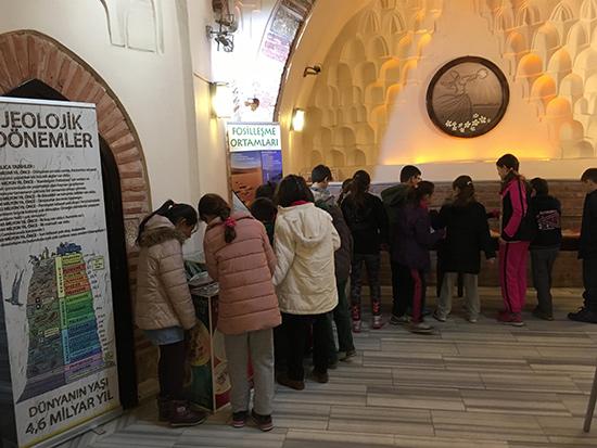 ördekli kültür merkezi fosil sergisi 2017